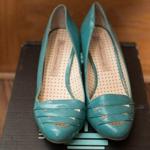 Turquoise Modcloth Heels